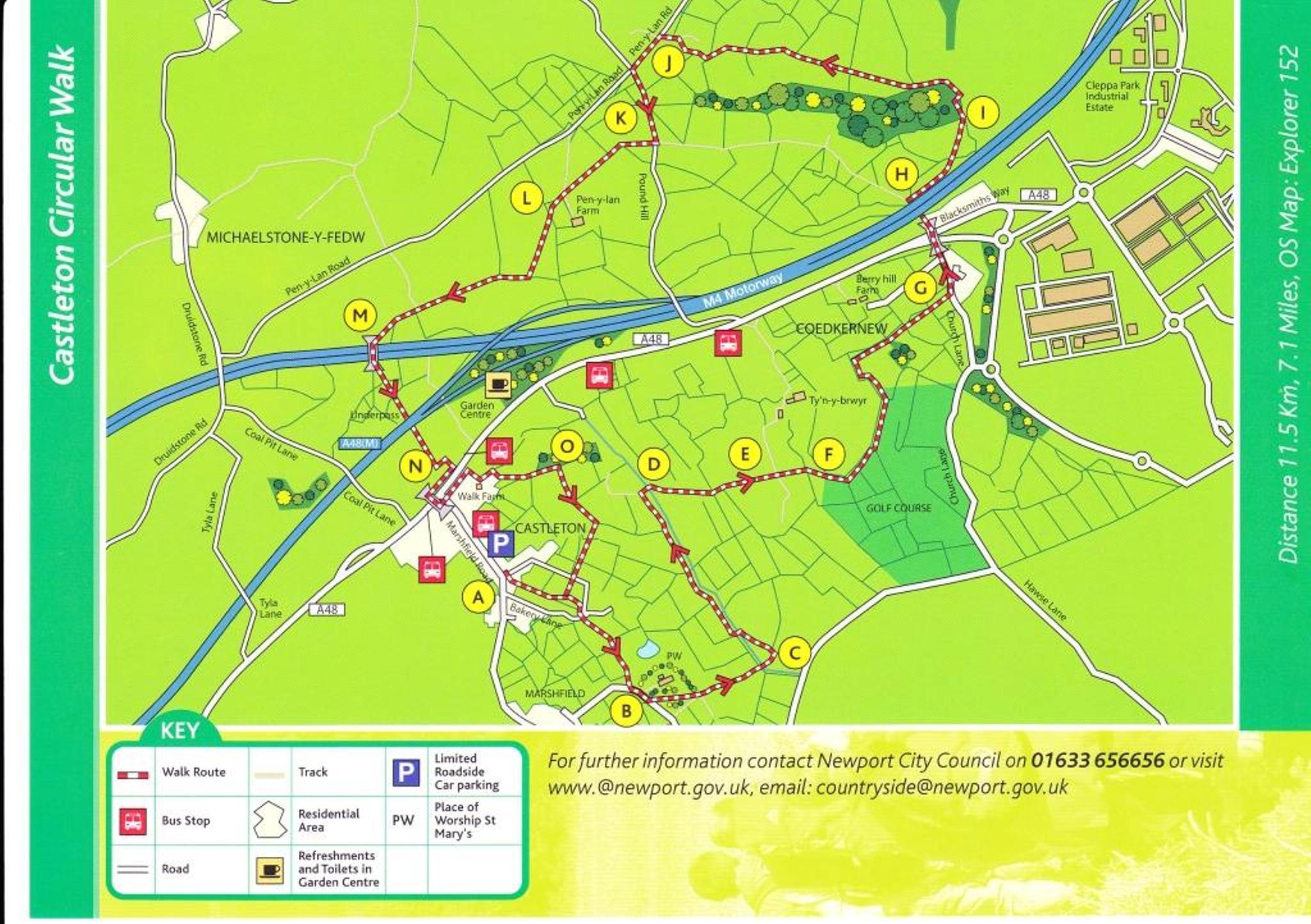 Castleton Circular Walk Marshfield Community Council Serving the